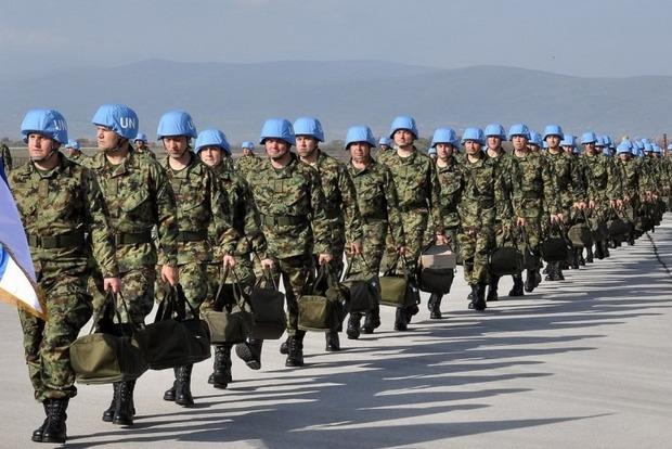 Миротврческую миссию ООН Киев должен обговаривать  сДНР иЛНР— Кремль