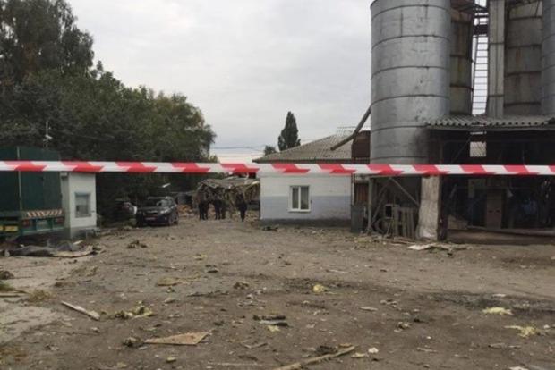 В Сумах произошел взрыв на макаронной фабрике