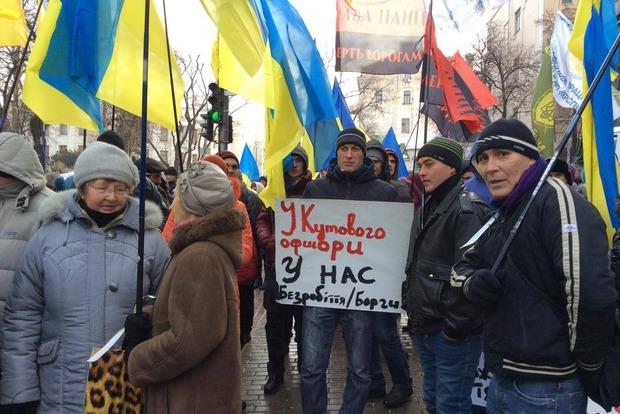 Профсоюзы аграриев пришли к Кабмину требовать отставки министра АПК Кутового