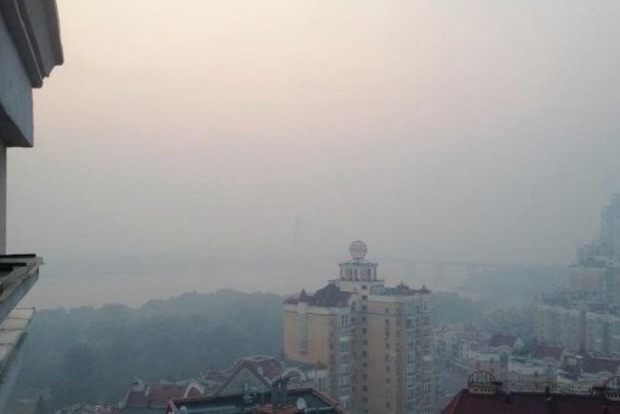 ВКиеве загрязненность воздуха превосходит  норму из-за жары— ГСЧС