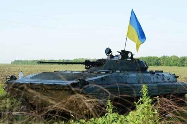 Боевики подожгли позиции ВСУ в Авдеевке