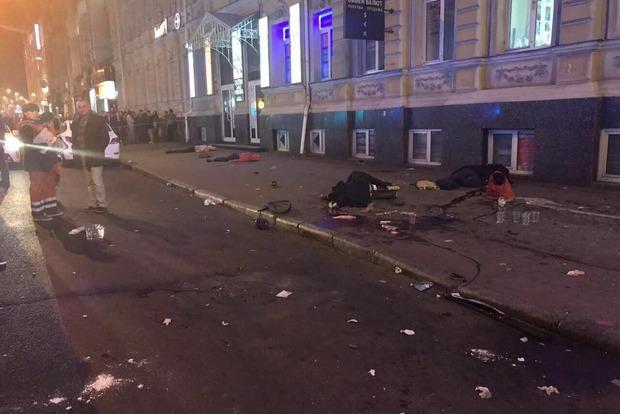 Полиция не рассматривает версию теракта в кровавом ДТП в центре Харькова