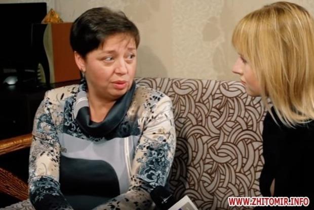 Мать погибшего героя АТО в Житомире родила тройню девочек