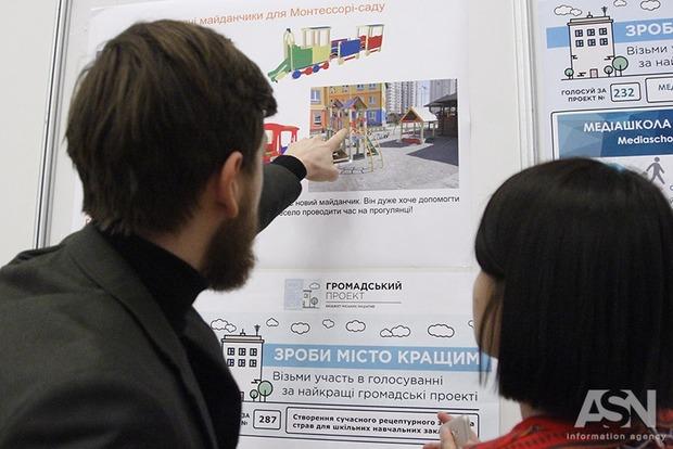 Киевляне представили 321 идею, как улучшить родной город