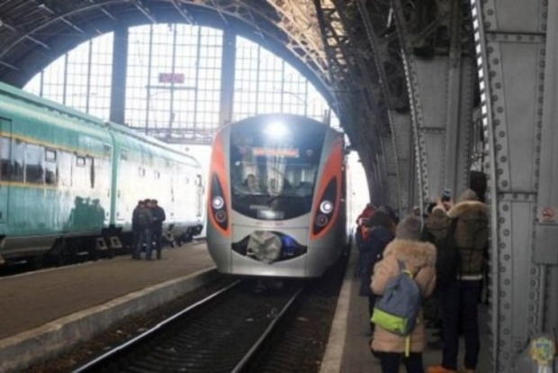 В новом «Интерсити+» Киев - Перемышль  зафиксировали первый случай контрабанды