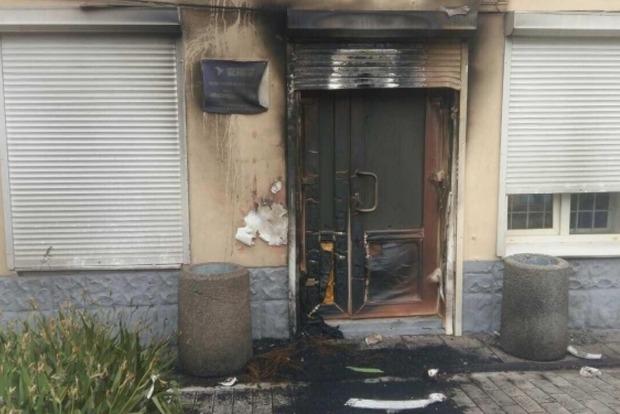 За ночь сожгли еще два офиса Оппозиционного блока