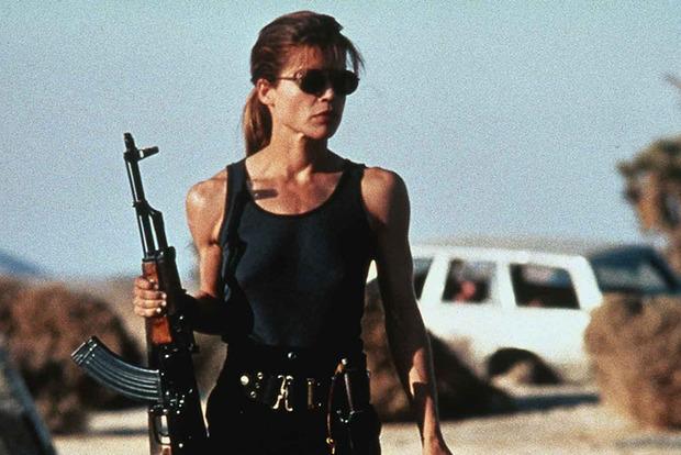Линда Хэмилтон снова играет Сару Коннор в Терминаторе: первое фото
