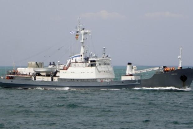 Получивший пробоину близ Босфора российский корабль пошел ко дну