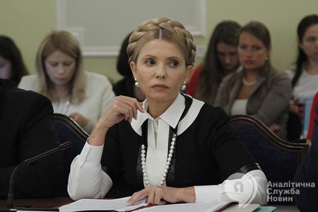Тимошенко нажаловалась в комитет, что пресса ее травит