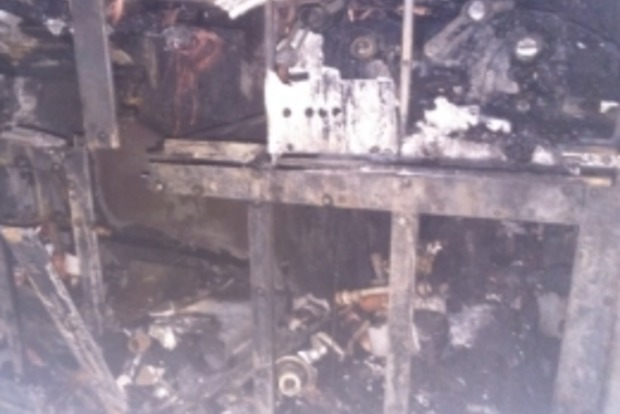 В центре Киева горело офисное здание, эвакуировано 350 человек