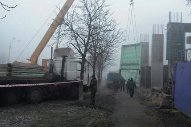 В Киеве в конфликте на стройке пострадали четыре человека