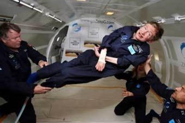 Стивен Хокинг разрабатывает сверхскоростной звездолет