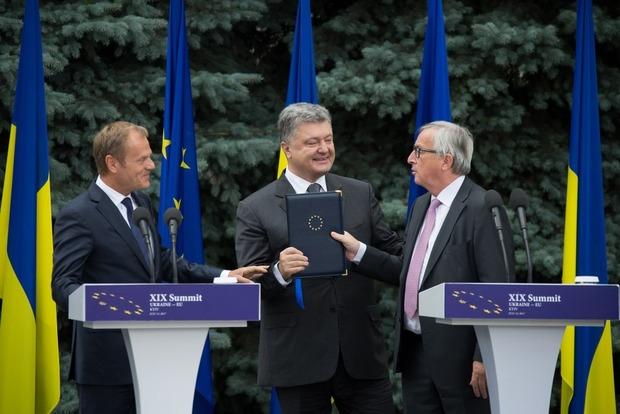 Порошенко: Количество отказов во въезде украинцев в ЕС составило не более 1%
