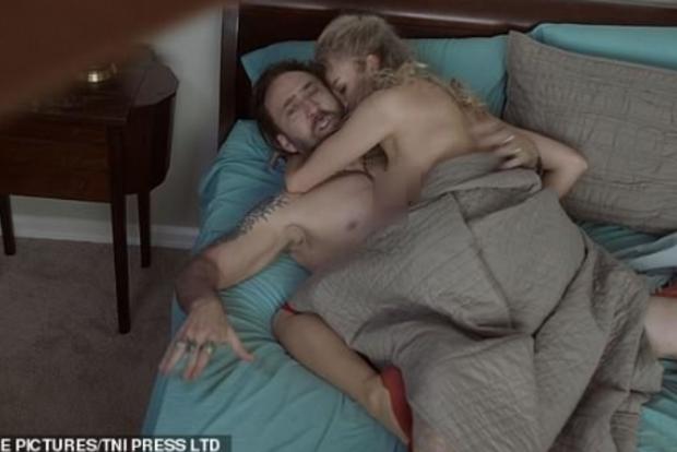 Біс в ребро: Ніколас Кейдж знявся у найбільш відвертій сцені сексу за всю кар'єру