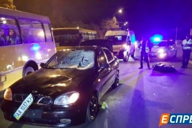У Києві Daewoo на смерть збив пішохода