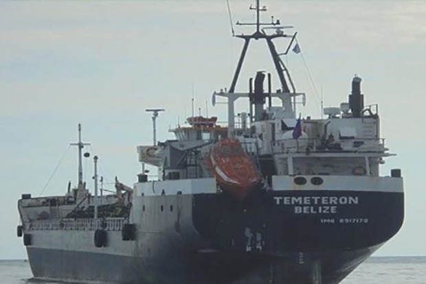 У берегов Ливии задержан танкер с украинцами на борту