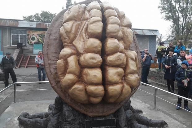 Вместо монумента Красной Армии на Днепропетровщине поставили грецкий орех