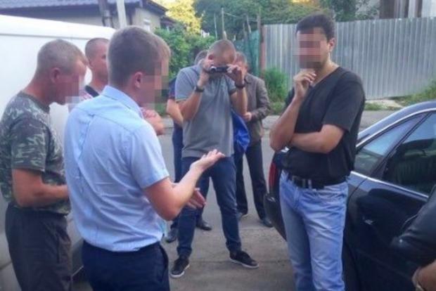 В Луцке на взятке поймали сотрудников СБУ и Службы внешней разведки