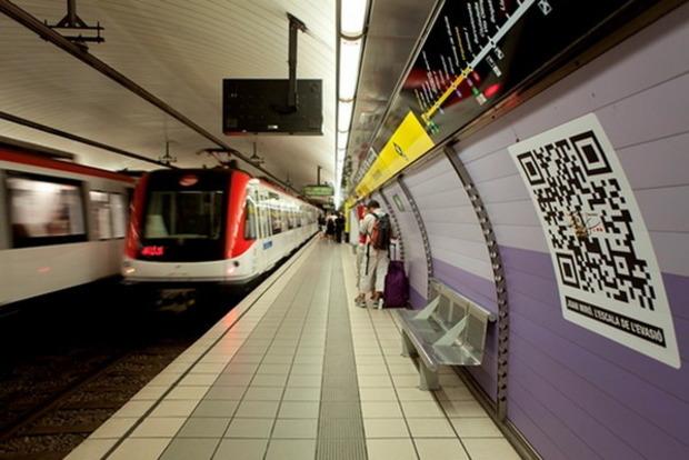 В киевском метрополитене начинают замену жетонов на билеты с QR-кодом