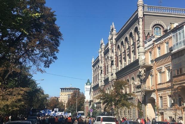 Пенсионеры Рабиновича продолжили облогу НБУ