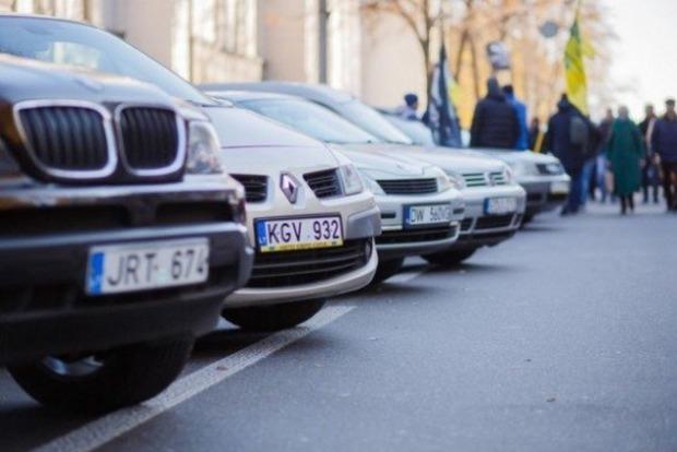 Евробляхи будут регистрировать круглосуточно - МВД