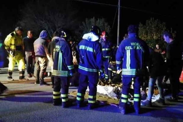 В Італії в тисняві на концерті загинули 6 осіб, 120 травмовано