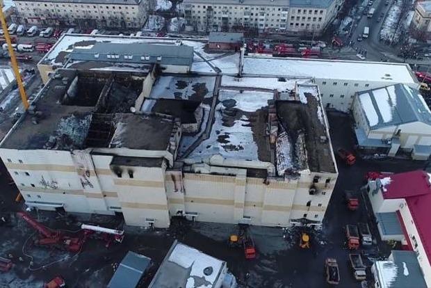 Братская могила. В Кемерово сносят ТРЦ «Зимняя вишня»