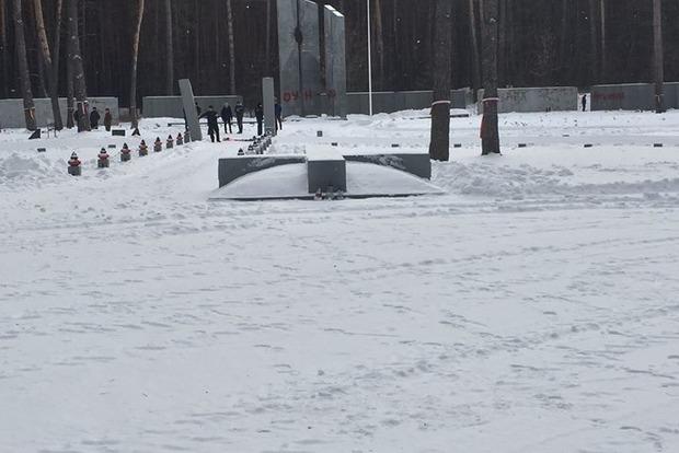 Климкин осудил надругательство над мемориалом в Быковне
