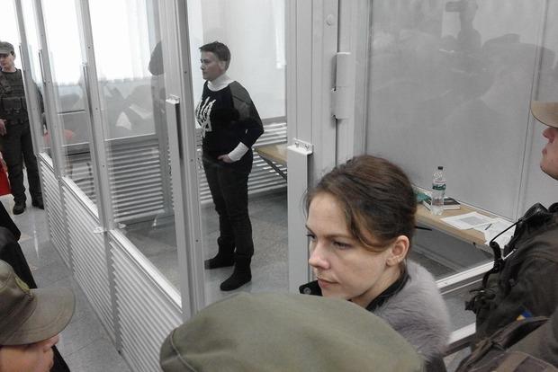 Мать Савченко рассказала, как дочь похудела за неделю
