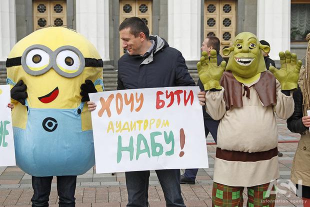 Демарш депутатов сорвал совещание  антикоррупционного комитета Рады