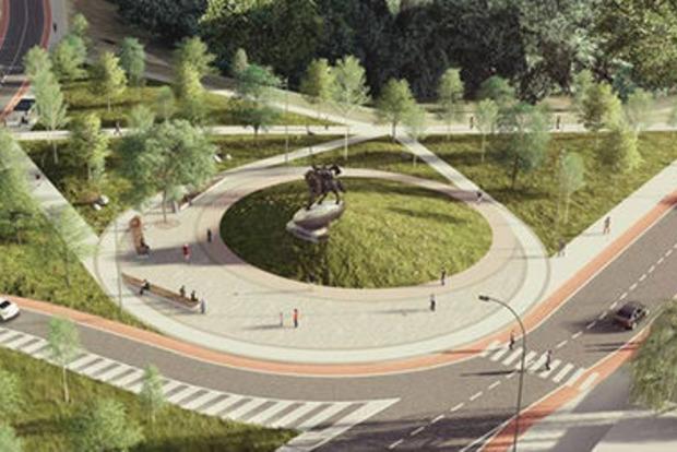 Новые ступени к Пейзажной аллее и памятник Илье Муромцу: в Киеве летом откроют новые объекты