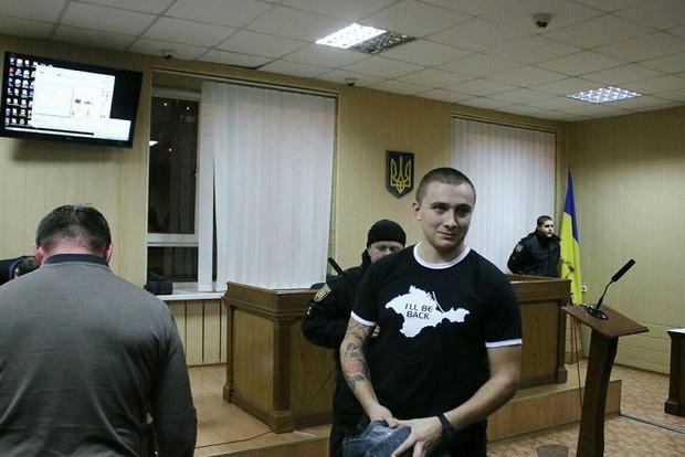 Глава Одесской ОГА внес залог за задержанного при столкновениях активиста Стерненко
