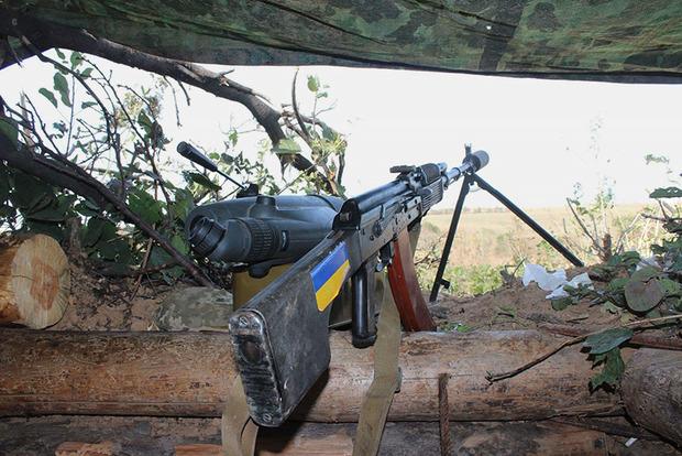 На Донбассе уничтожили наблюдательный пункт боевиков «ДНР»