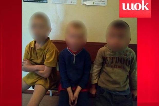 В центре Кривого Рога нашли троих детей-Маугли