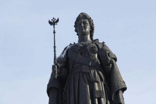 В Крым привезли памятник Екатерине II