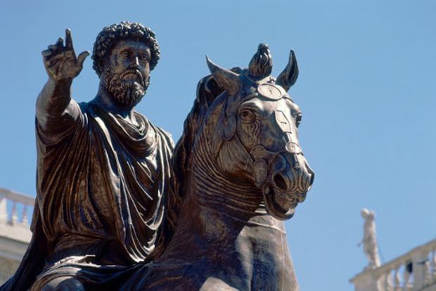 Археологи нашли в Египте голову статуи римского императора Марка Аврелия