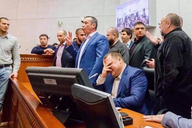 В Днипре произошла драка на сессии горсовета