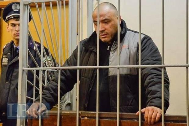 Осужденного за убийство Веремия Крысина отправили в донецкую колонию