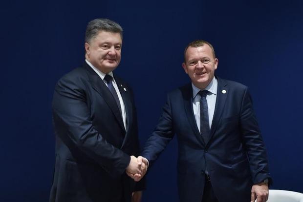 Завтра Президент Украины Петр Порошенко встретится с Премьер-министром Дании