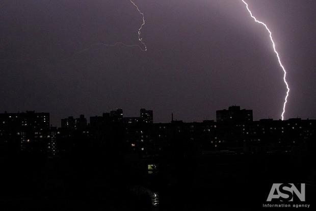 В Киеве похолодало. Ночной дождь с грозой понизил температуру до 20 градусов