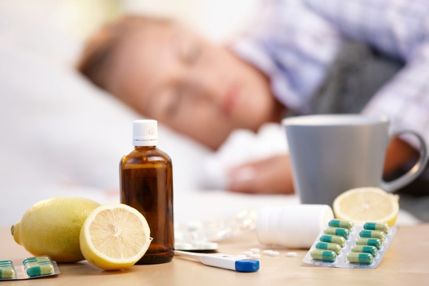 С начала недели в Киеве гриппом и ОРВИ заболели более 19 тыс. человек