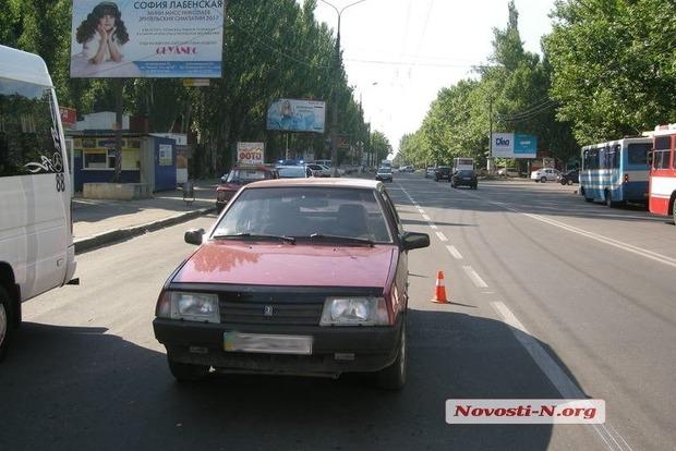 В Николаеве на дороге сбили 10-летнего мальчика