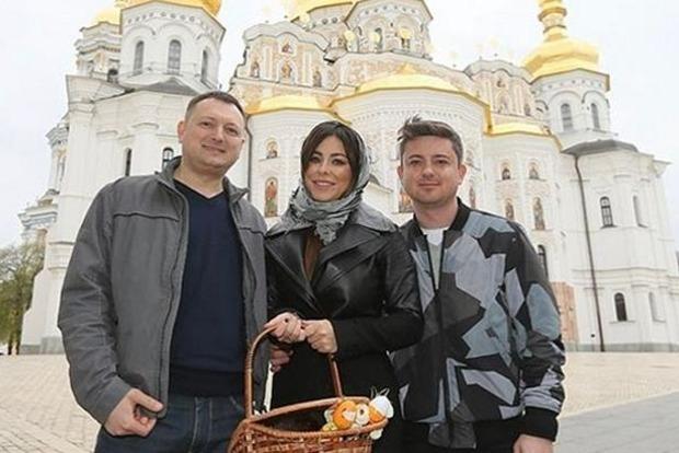 Ани Лорак поздравила украинцев с Пасхой и прогулялась по Киеву