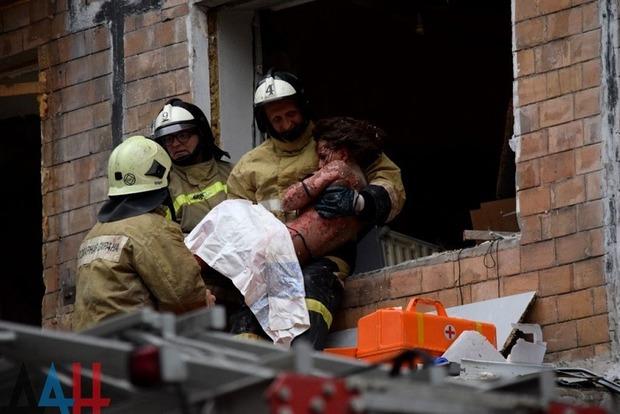 В многоэтажке оккупированного Донецка прогремел взрыв