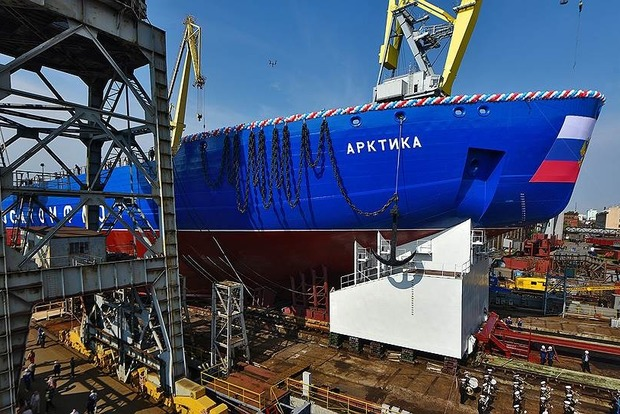 Между нами не тает лед: Россия не достроит атомный ледокол без украинской помощи