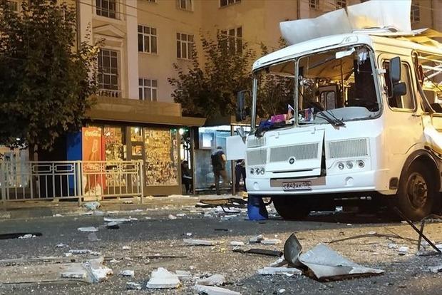 Двое погибших. Последствия взрыва автобуса в Воронеже