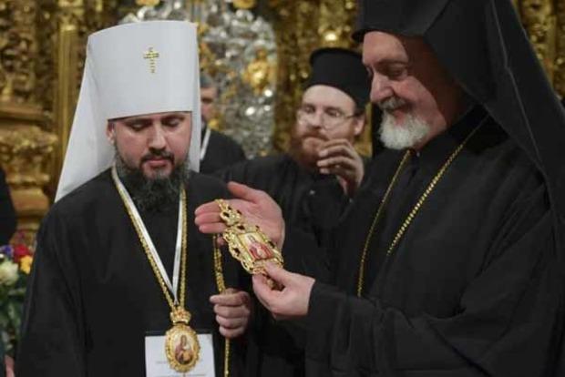 В РПЦ считают неканонической новую церковь в Украине