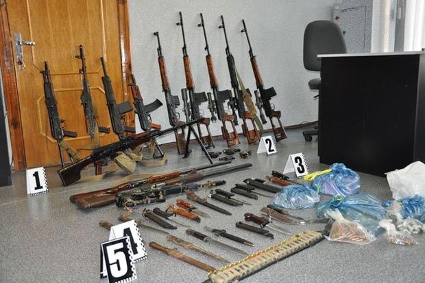 В Киевской области найден арсенал оружия