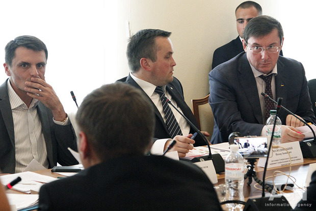Луценко вимагає звільнити Холодницького за дисциплінарні проступки