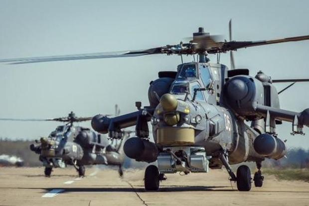 Появилось видео, как сбивали российский вертолет в Сирии
